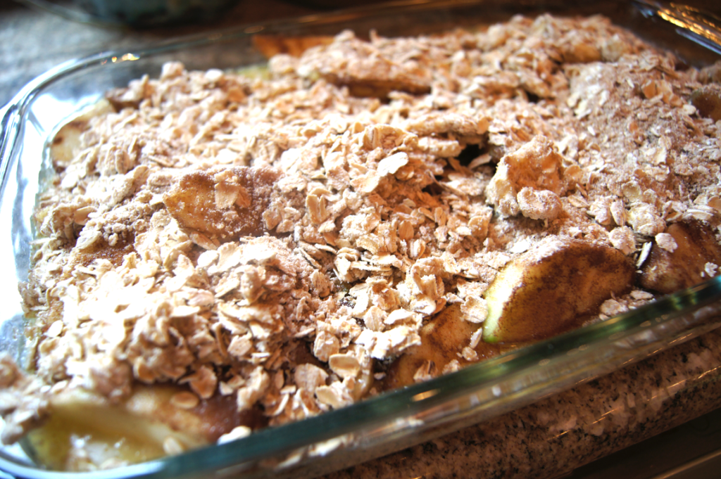 Apple Cobbler Crisp ready-to-bake
