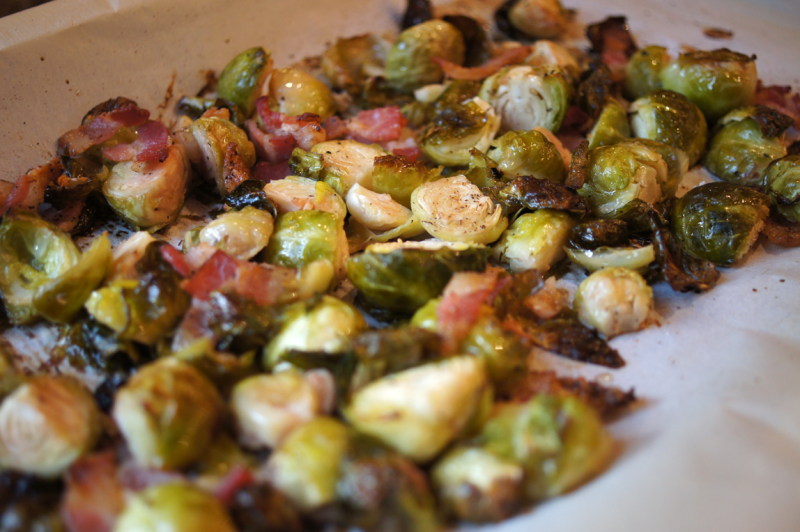 Roasted Brussels Sprouts – Garden Soiree