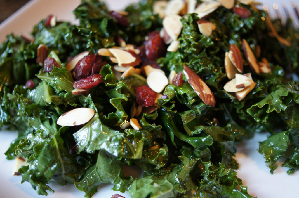 Kale Salad with simple dressing